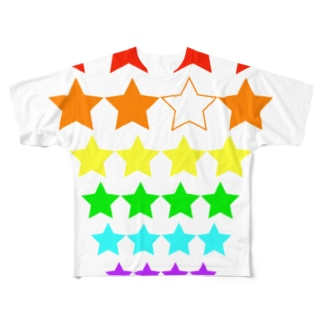 スターシリーズ Full graphic T-shirts