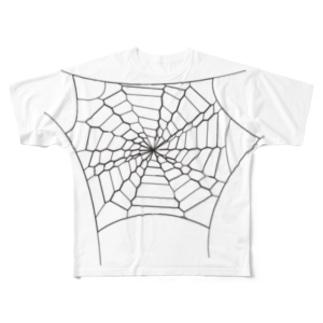 trap net Full graphic T-shirts