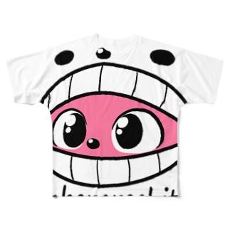 捕食されちゃん Full graphic T-shirts