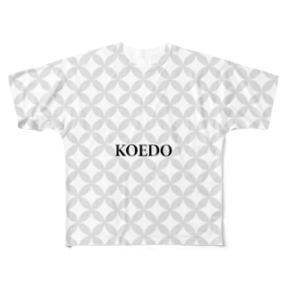 #39 「KOEDO」~川越市~ Full graphic T-shirts