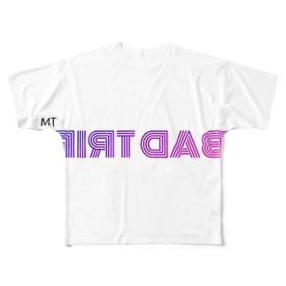 BAD TRIP フルグラフィック Tシャツ Full graphic T-shirts