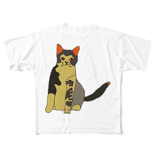 蒲生くん Full graphic T-shirts