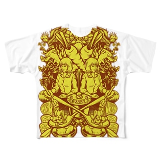Material of Curry Full graphic T-shirts