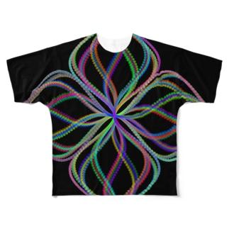 Parametric Curves01(Colors) フルグラフィックTシャツ