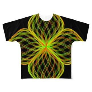 Parametric Curves03(Colors) フルグラフィックTシャツ