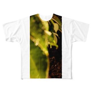夜の葉 Full graphic T-shirts