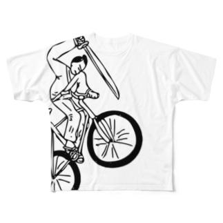 Samurai Lauren Full graphic T-shirts
