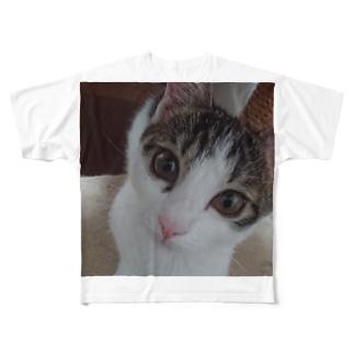 ぺろ Full graphic T-shirts