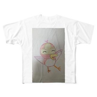 あかいとり Full graphic T-shirts