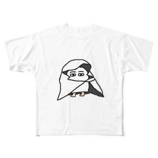 メジェド(布) Full graphic T-shirts