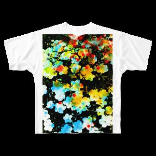 nor. (のあ)の001 Full graphic T-shirts