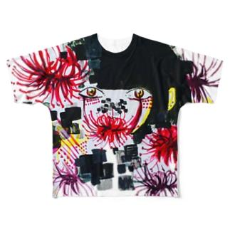 悲願花 Full graphic T-shirts