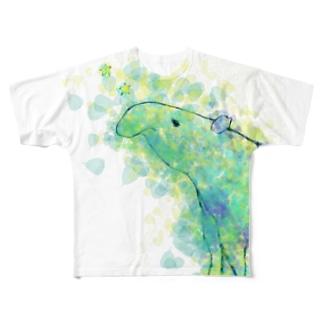 夢獏   フルグラフィックTシャツ