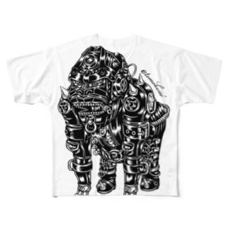"Animalia Kinky "" Black Gorilla "" Full graphic T-shirts"