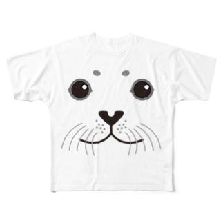 SEAL-animal up-アニマルアップ- Full graphic T-shirts