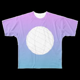 レオナのSphere Full graphic T-shirts