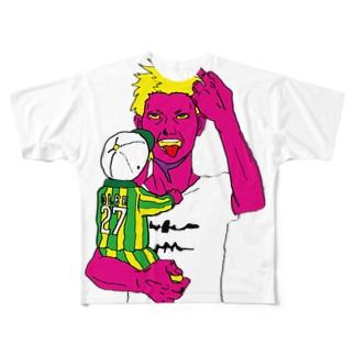 パンクなトーチャン フルグラフィックTシャツ