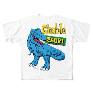 ZAURI △Sky Blue▼ フルグラフィックTシャツ