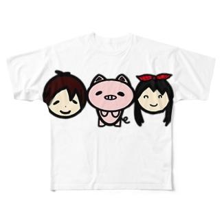 杉本咲良 作『卒業制作』 フルグラフィックTシャツ