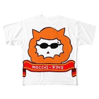 望月英 作『モッチーリング』 フルグラフィックTシャツ