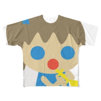 テンシ! フルグラフィックTシャツ