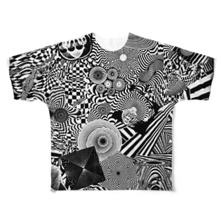 あ フルグラフィックTシャツ