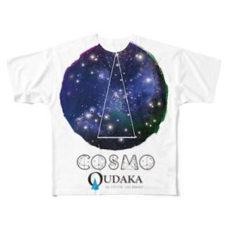 コズモクダカ フルグラフィックTシャツ