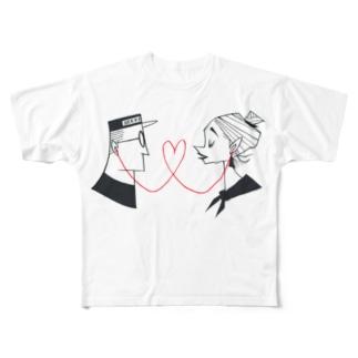 LoveLine Full graphic T-shirts