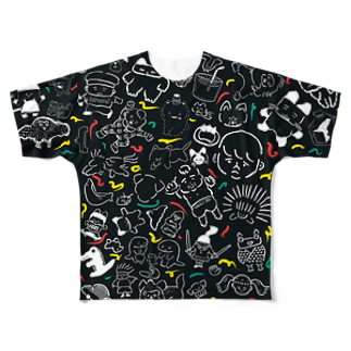 あおむろひろゆきの大暴れ Full graphic T-shirts