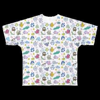 りかちゃんのみんな生きてる! Full graphic T-shirts