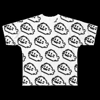 イソ(ベ)マスヲのあらざし大漁 Full graphic T-shirts