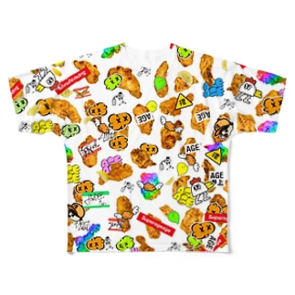 HARAJUKU AGEKAWAII Full graphic T-shirts