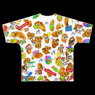 アゲアゲ↑↑ボーイfromアゲアゲカメラのHARAJUKU AGEKAWAII フルグラフィックTシャツ