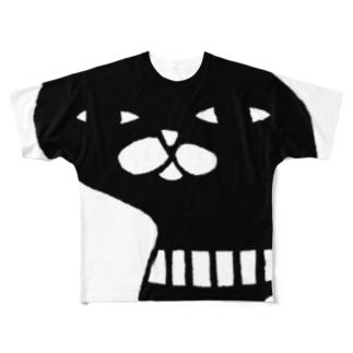 シラトリサン Full graphic T-shirts
