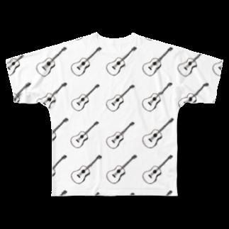guitar×guitar フルグラフィックTシャツ