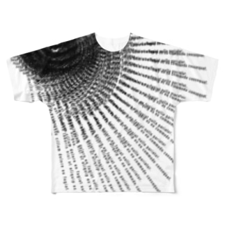 DUMMY TEXT4 Full graphic T-shirts