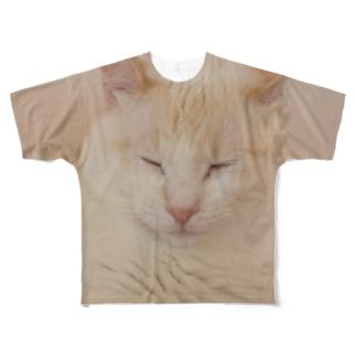 neko2 Full graphic T-shirts