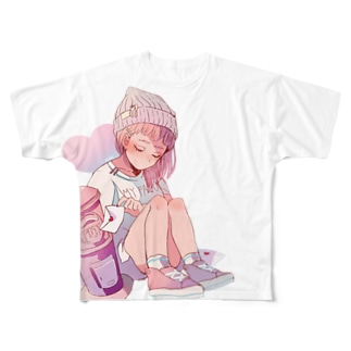 チェリッシュ Full graphic T-shirts