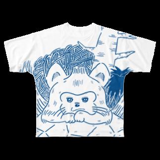 ハイエナズクラブのあおむろひろゆき×ハイエナズクラブ(その2) Full graphic T-shirts