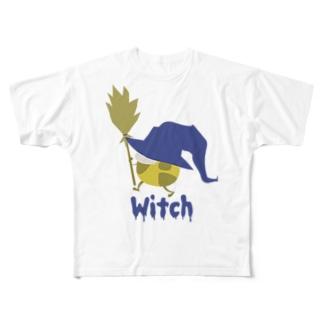 魔女っ子きりん Witch フルグラフィックTシャツ