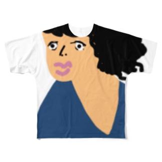 峯田 Full graphic T-shirts