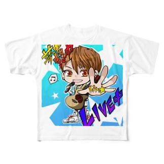 hiro☆くん Full graphic T-shirts