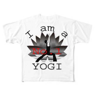 No.1 ヨギ Full graphic T-shirts