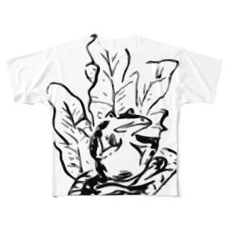 鳥獣戦隊 GIGAれんじゃあ部(ボスキャラ) Full graphic T-shirts