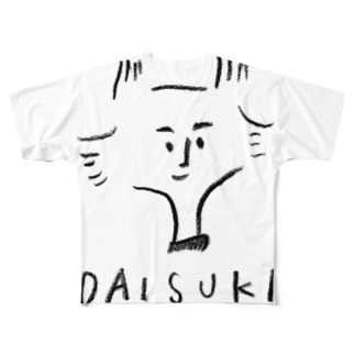 SAKI HOTAEのDAISUKI Full graphic T-shirts