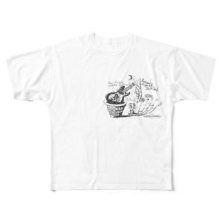 モズライト フルグラフィックTシャツ