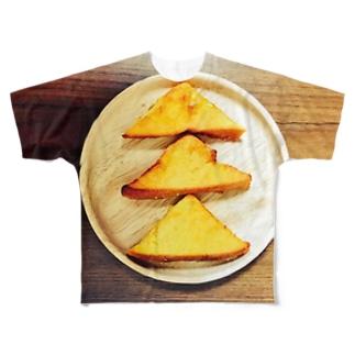 フレンチトースト フルグラフィックTシャツ