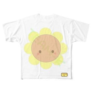 TEAM-K ひまわり Full graphic T-shirts