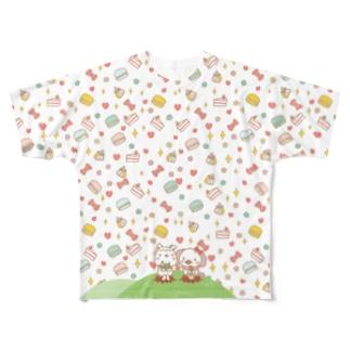 スイート100% フルグラフィックTシャツ