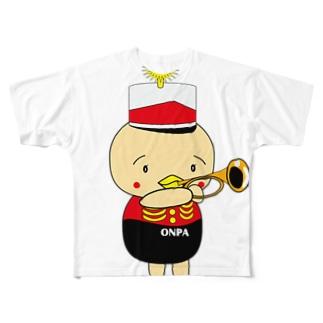 オンパ ペット Full graphic T-shirts
